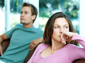 what to do when your husband ignores you - react to his silent treatment